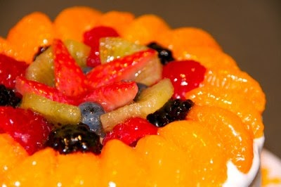 Thermomix Easy Peach Cake