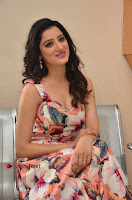 Actress Richa Panai Pos in Sleeveless Floral Long Dress at Rakshaka Batudu Movie Pre Release Function  0102.JPG