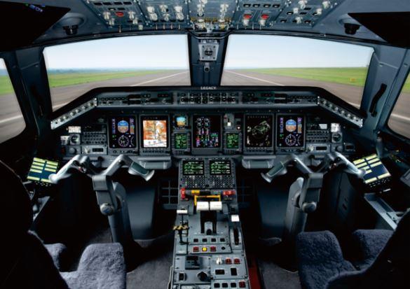 Embraer Legacy 600 cockpit