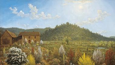Patterdale, la casa y jardín de John Glover en Tasmania restaurados casi 2 siglos después