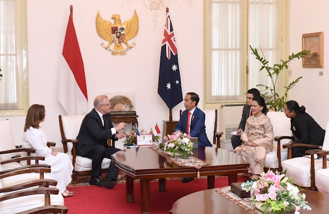 Sebelum Dilantik, Presiden Jokowi Terima Kunjungan Kehormatan Pimpinan Negara Sahabat