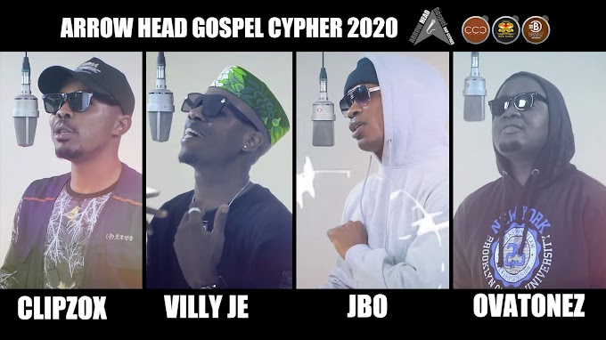 JBO - Arrow Heads Gospel Rap Cypher ft. Villy Je, Clipz, Ovatonez