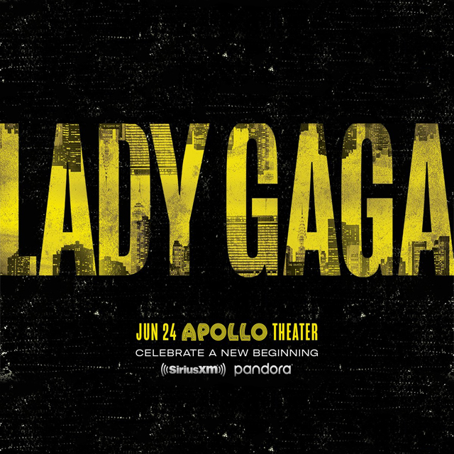 Lady Gaga to Perform at Apollo Theater