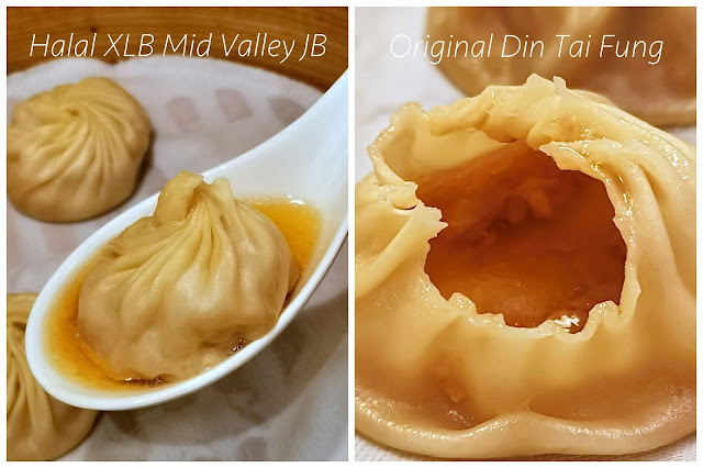 Halal Xiao Long Bao in Din Tai Fung @ The Mall Mid Valley Southkey JB vs Original DTF XLB in Taipei