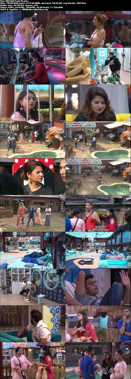 Bigg Boss 12 Episode 37 23 October 2018 WEBRip 480p 170Mb x264 world4ufree.vip tv show Episode 37 23 October 2018 world4ufree.vip 200mb 250mb 300mb compressed small size free download or watch online at world4ufree.vip