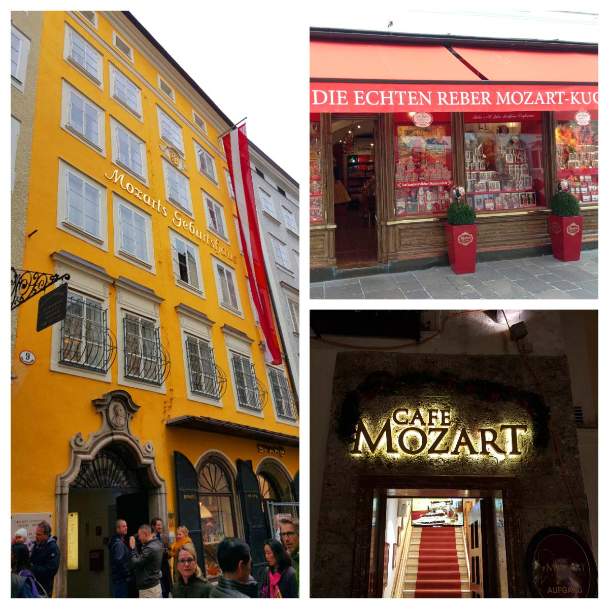 Mozart, Salzburg, Áustria