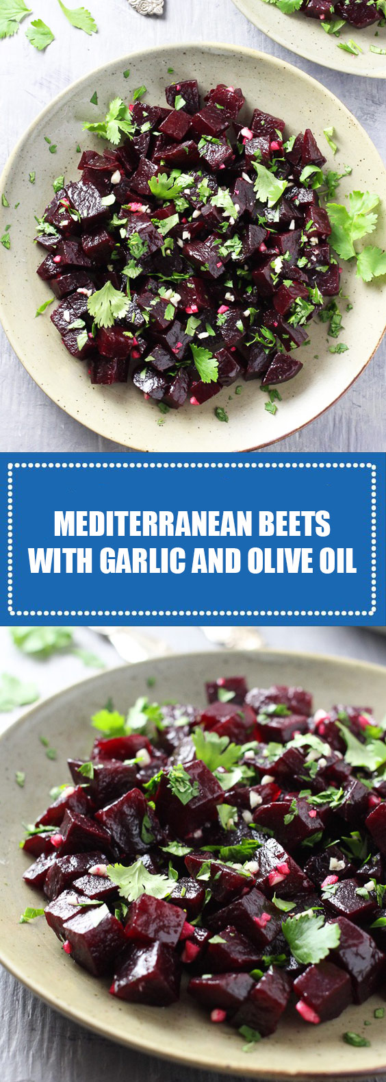 Mediterranean Beets with Garlic and Olive Oil Recipe