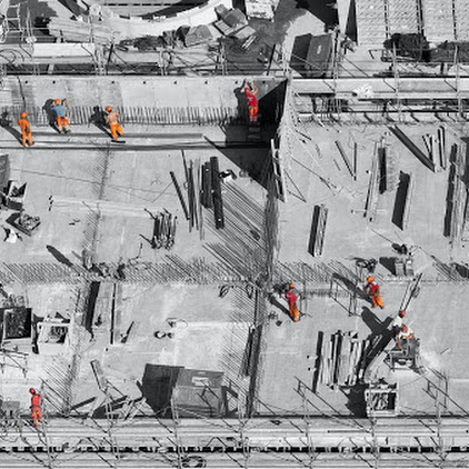 Reinforcement, construction and main reasons to use raft foundation