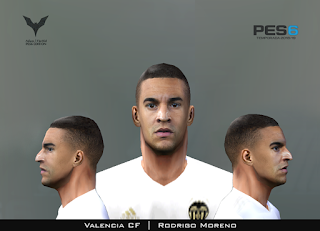 PES 6 Faces Rodrigo by Adam & The Kid Facemaker