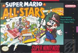 Super Mario All-stars cover