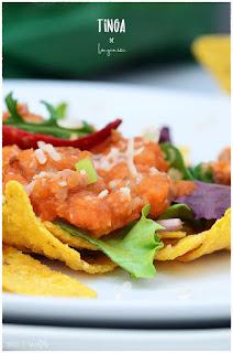 Totopos con tinga de longaniza- Aprende a elaborar esta receta casera mexicana
