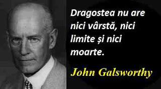 Maxima zilei: 14 august - John Galsworthy