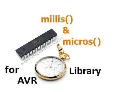 millis & micros library for AVR microcontrollers