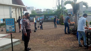 Disiplin Prokes, Binmas Polsek Dayeuhkolot Polresta Bandung Imbau 3M di Jemaat Gereja