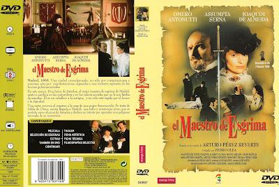 Carátula dvd: Maestro de Esgrima (1992) - Cine Clasico Conecta2