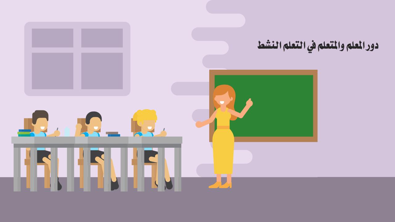دور المعلم والمتعلم في التعلم النشط