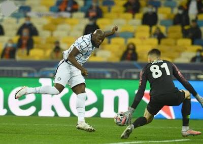 ملخص مباراة شاختار ضد الإنتر (0-0) في دوري ابطال اوروبا