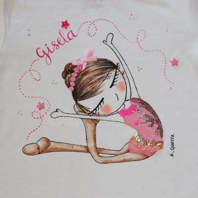 Camiseta gimnasta
