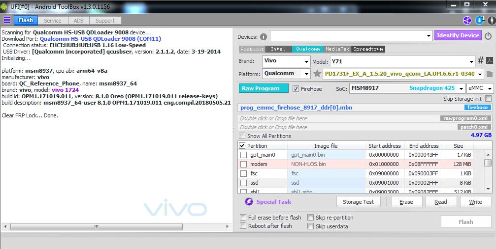 Firmware Vivo Y15 Tested 100% No password