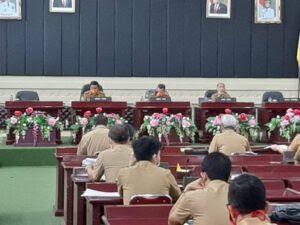 Rakor Penanganan dan Penganggaran Jalan di Provinsi Lampung