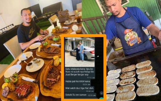 Selepas dapat simpati daripada seluruh rakyat Malaysia, tersebar kehidupan sebenar abang burger