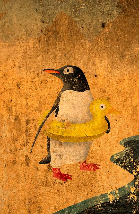 Ilustración de Salvador Ortega