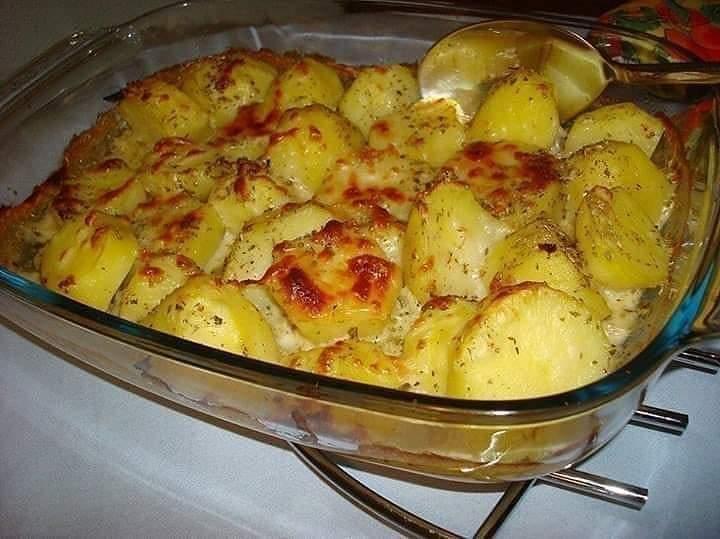 Como fazer batata gratinada