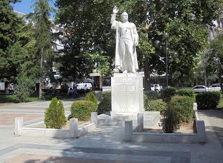 ανδριάντας του Εμμανουήλ Παππά στις Σέρρες