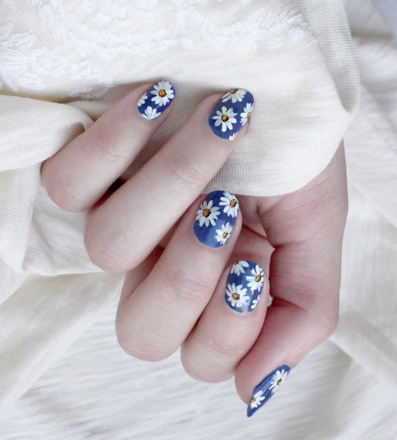 decoracion de uñas para fiesta de gala