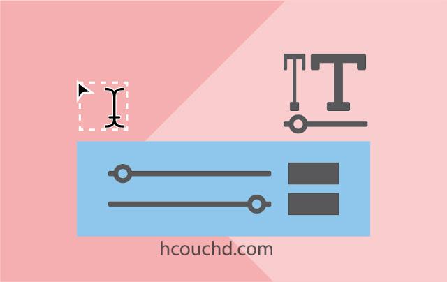 إضافة السمات المخصصة للخطوط indesign