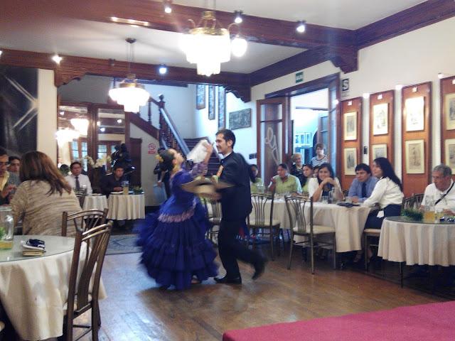 Baile marinera en Lima Perú