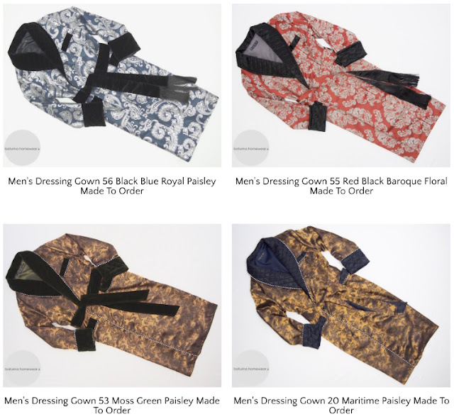 mens paisley silk dressing gowns luxury robes