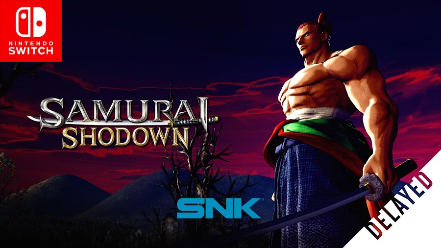 samurai shodown 2019 nintendo switch version delayed q1 2020 snk