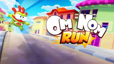تحميل لعبة تخطّي العقبات الممتعة Om Nom Run مهكرة للأندرويد