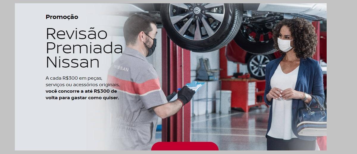 Revisão Premiada 2021 Promoção Nissan