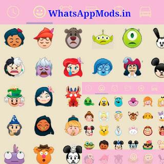 GBWA v6.25 Disney Emojis
