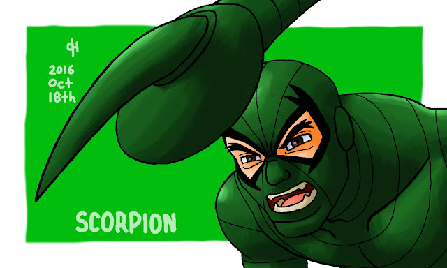 Marvel, Scorpion