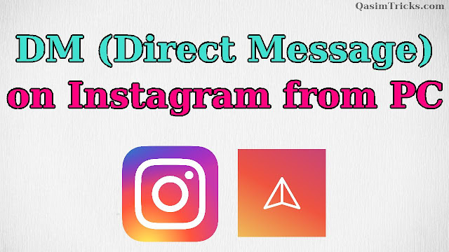 How to DM (Direct Message) on Instagram from PC