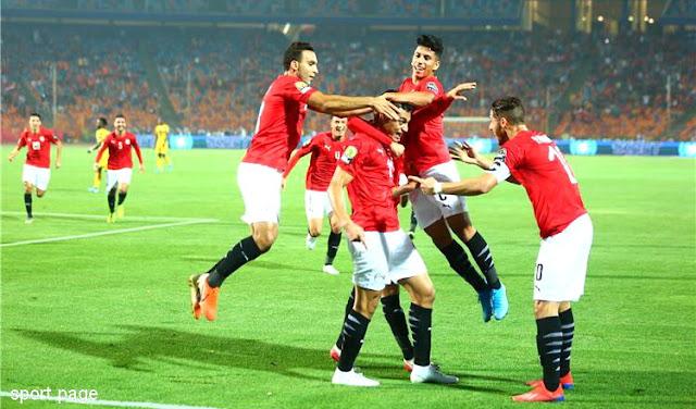 منتخب مصر الاولمبى يهزم منتخب غانا الاولمبى ويتاهل للدور