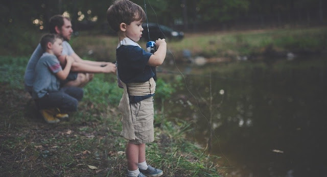 Image: Father and Sons Fishing, by Pexels on Pixabay