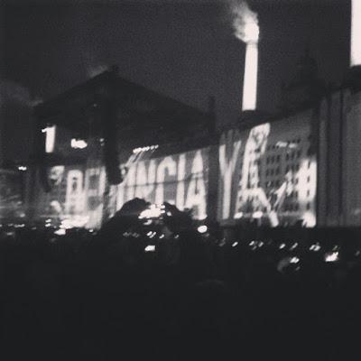 #RenunciaYa en el Zócalo de la Ciudad de MéxicoAldabi Olvera