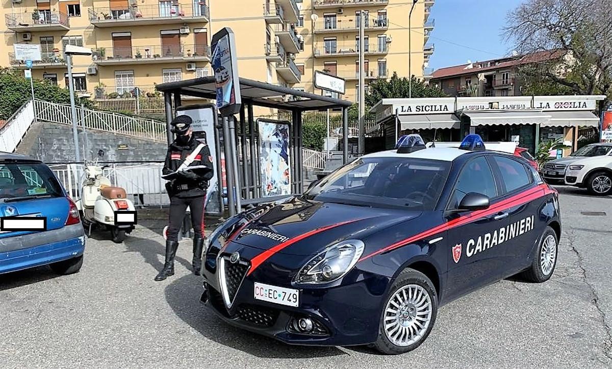 Topo d'auto arrestato a San Gregorio di Catania