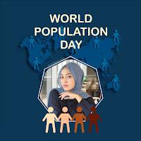 Gambar Twibbon Hari Populasi Sedunia 11 Juli 2021