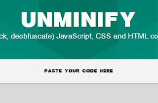 Uncompressor Unminify CSS