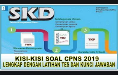 Kisi-kisi Resmi SKD CPNS 2019 Sesuai Peraturan MenPAN RB No 23  Thn 2019, Inilah yang Dinilai dalam TWK, TIU dan TKP