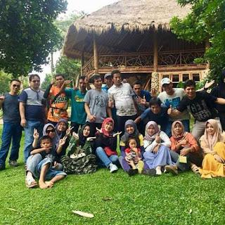SMPN 1 Cikidang Gelar Acara Reuni Alumni (Baraya)93 Di Kaldera Cikidang Sukabumi