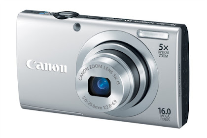 Canon PowerShot A2400 IS Driver Download Windows, Mac