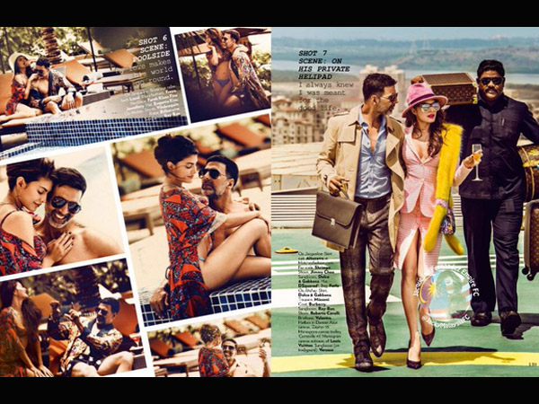 Jacqueline Fernandez and Akshay Kumarz On The Vogue Cover 3