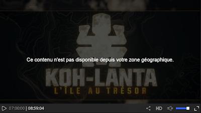 Regarder Saison 16 de Koh-Lanta sur TF1 depuis l'étranger