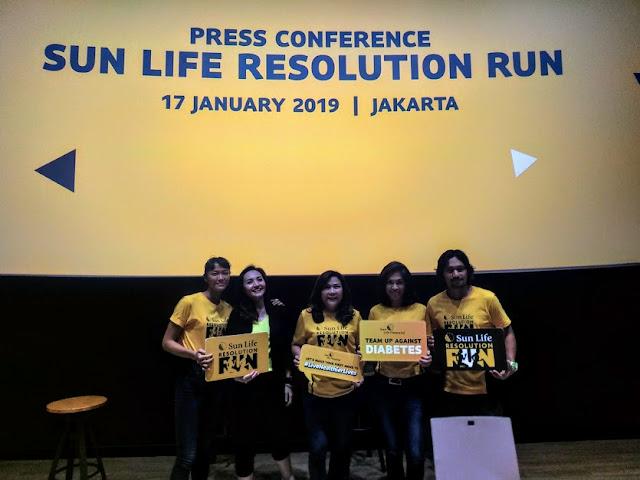 Sun Life Resolution Run 2019: Momentum Langkah Awal Wujudkan Resolusi Hidup Sehat